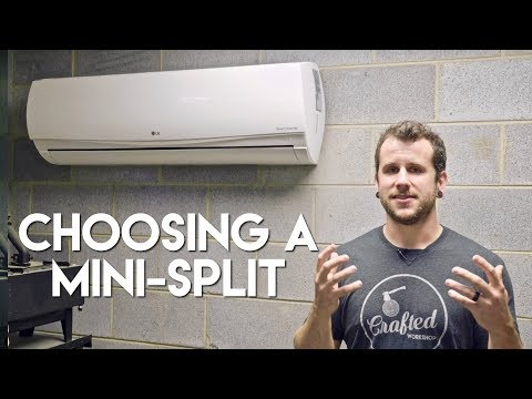 Choosing A Ductless Mini-Split Air Conditioner & Installation Process