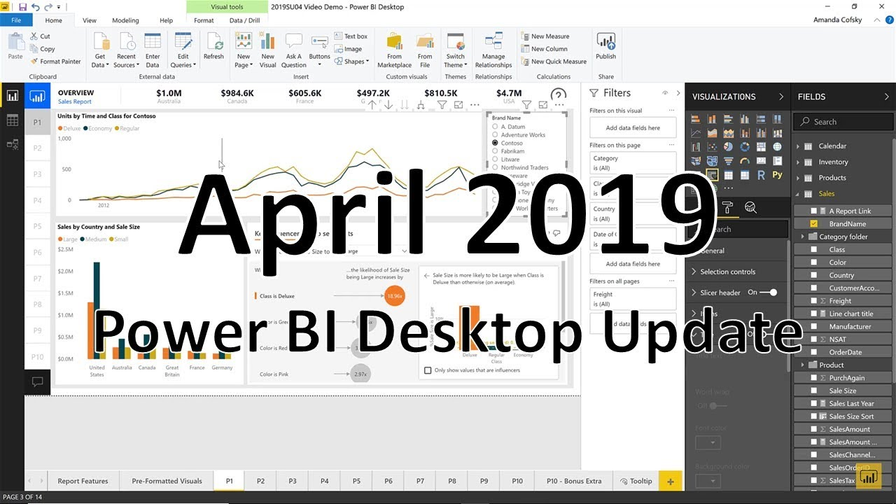 Power BI Desktop Update - April 2019