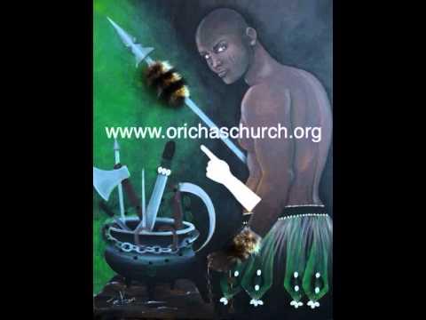 Prayer for Ogun and English translation