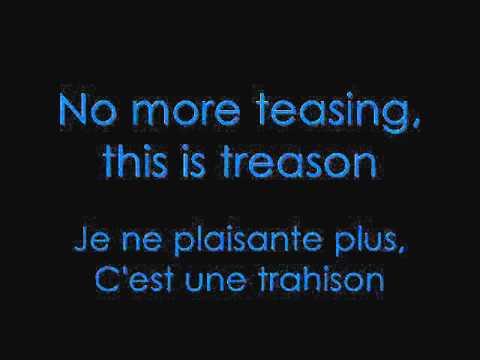 M.Pokora - Treason avec paroles + traduction