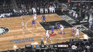 NBA LIVE 15: New York Knicks Vs Brooklyn Nets Gameplay