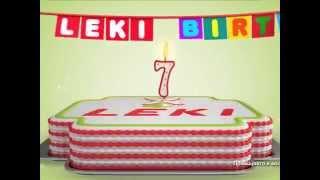 Leki става на 7 години