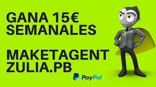Gana 15€ semanales con marketagent estrategia 2018