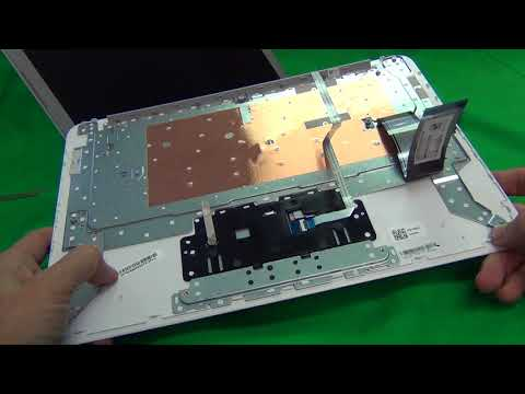 HP Chromebook 14 G4 14-AK Keyboard and Battery Replacement
