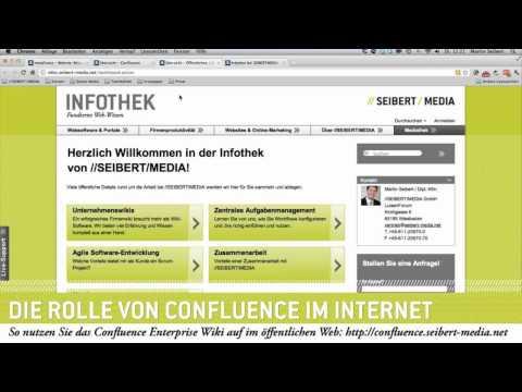 Confluence Enterprise Wiki - Potenziale im öffentlichen Internet