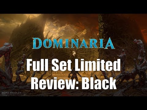 Dominaria Full Set Limited Review: Black