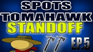 BO2 STANDOFF SPOTS DE TOMAHAWK ACROSS THE MAP DOMINIO EP5