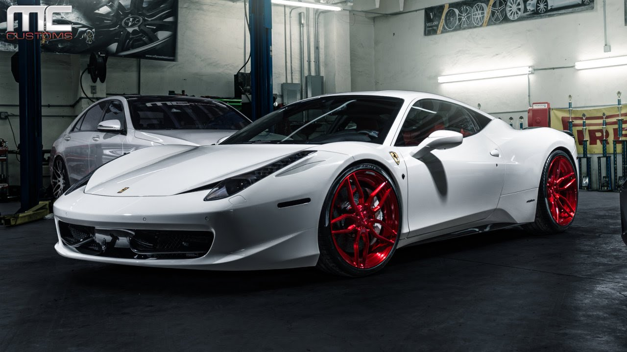 Mc Customs Ferrari 458 Italia 183 Adv 1 Wheels Youtube