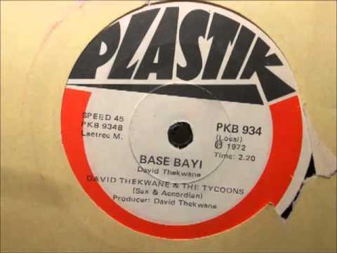 David Thekwane & The Tycoons - Base Bayi (Plastik Pkb 934)(Sax & Accordian Jive)