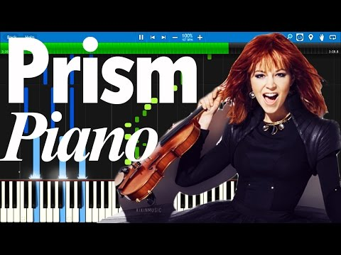 Lindsey Stirling - Prism | Synthesia Piano Tutorial
