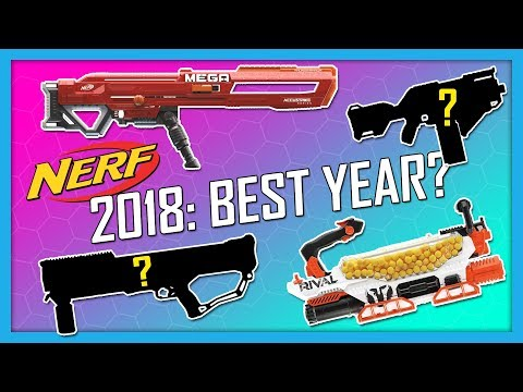 NEW 2018 NERF GUNS! $200 Rival Prometheus, Mega Accustrike ThunderHawk | Nerf News