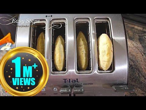 Toaster Roti | Tandoori Roti in Toaster | Kids will Love Mini Roti | Chapati