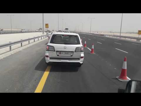 Newly opened Orbital Highway Phase-I, Qatar