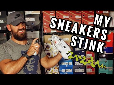 how to get smell out of sneakers