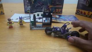 The Batman Lego Movie: Catwoman / Catcycle Chase Unboxing & Build FAIL?..
