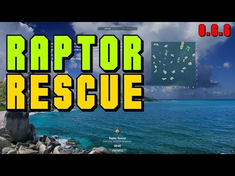 0.6.6 Scenario - Raptor Rescue || World of Warships
