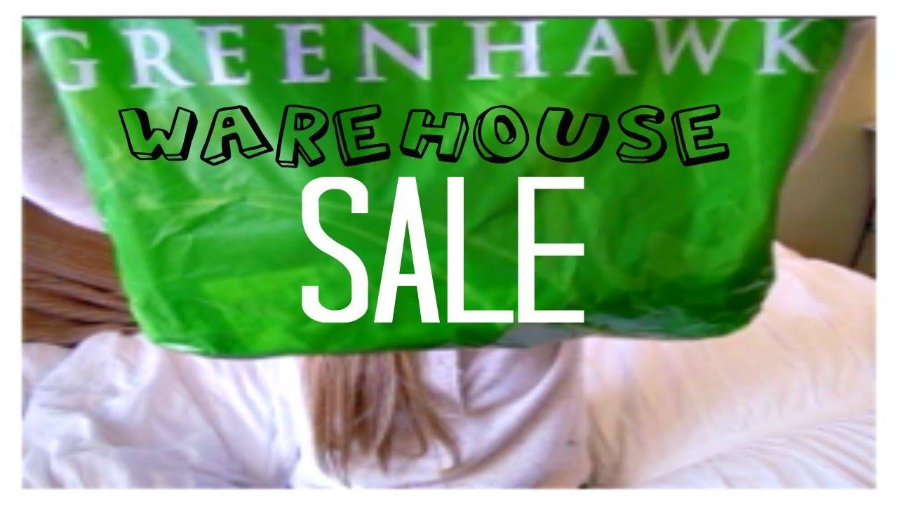Greenhawk Warehouse Sale Haul