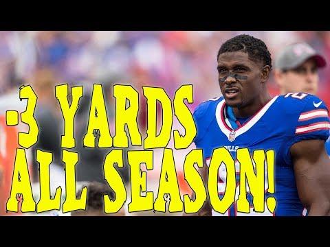 Single season rushing record