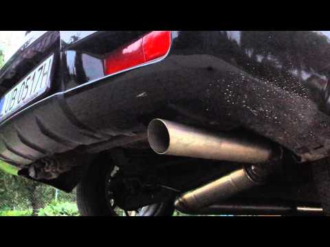 """Mitsubishi Outlander Turbo with 3"""" custom exhaust system sound"""