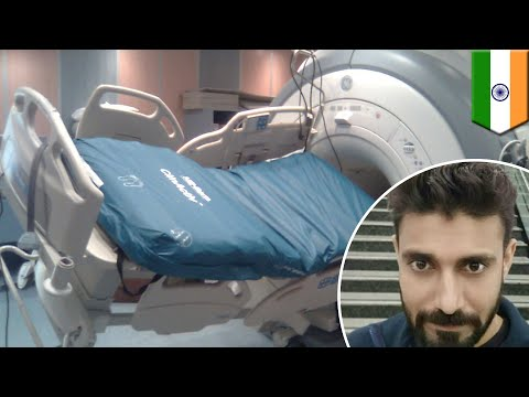 Man sucked into MRI machine - TomoNews
