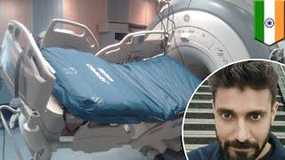 Man sucked into MRI machine - TomoNews