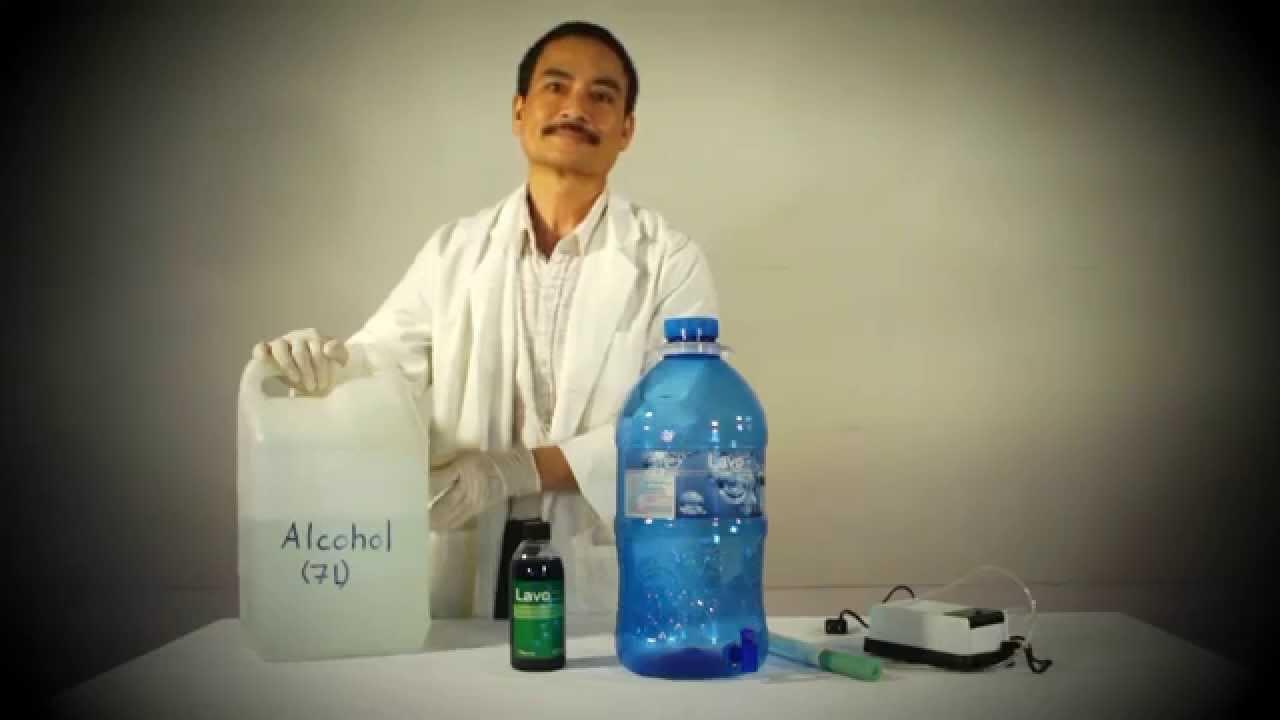Mtts Optima Hand Sanitizer Preparation And Use Youtube