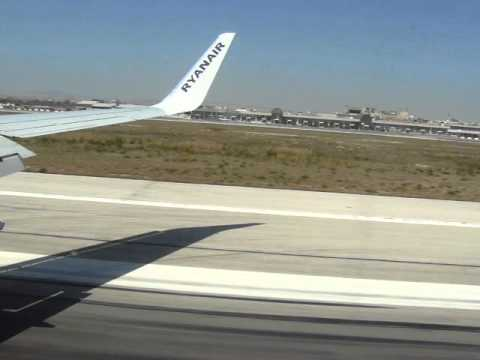 Landung / Landing Larnaca / Larnaka Zypern / Cyprus with Ryanair Aug. 2012
