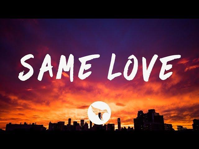 Prince Fox - Same Love (Lyrics)