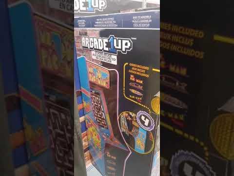 Ms Pac Man. Arcade1Up from Motivator 4U
