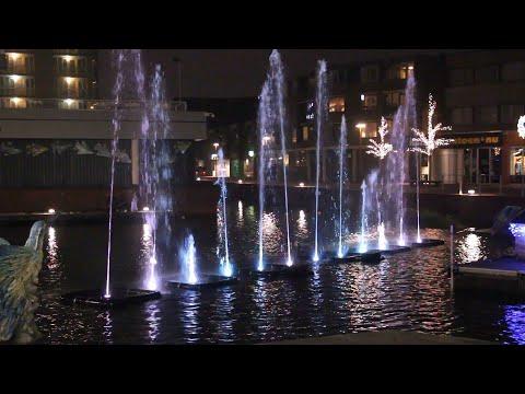 Licht, water en muziek in de binnenstad