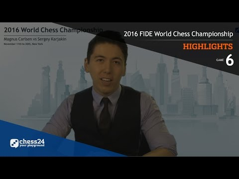 2016 FIDE World Chess Championship - Highlights - Game 6