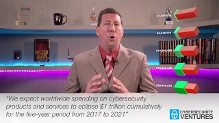 Cybercrime to cost $6 trillion annually by 2021 reveals Cybersecurity Ventures 2017 Report