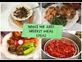FRIDAY FOOD FEST!! WEEKLY MEAL IDEAS!! #whatsfordinner #mealideas #familymeals