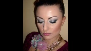Dramatic Prom Black Sparkly Cat Eyes Tutorial Thumbnail