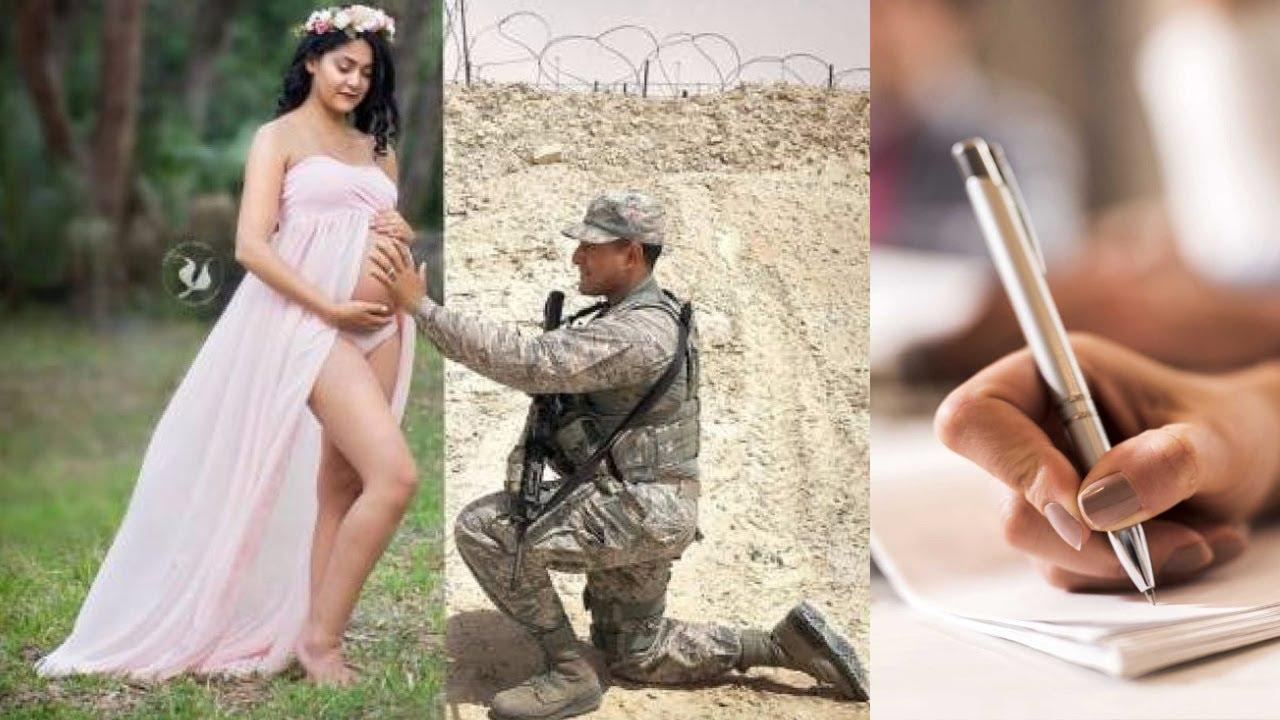 Carta de un soldado a su esposa