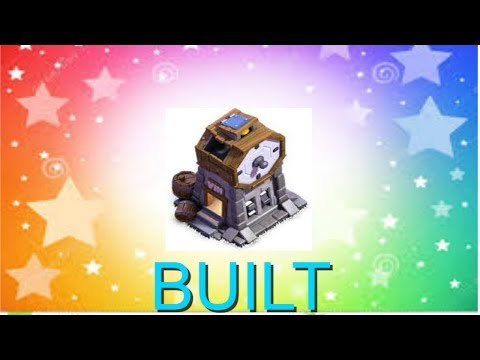 BUILDING CLOCK TOWER!!!!!!- CLASH OF CLANS