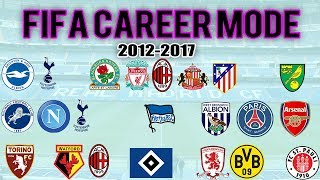 The Best Of FIFA Career Mode (2012 - 2017)