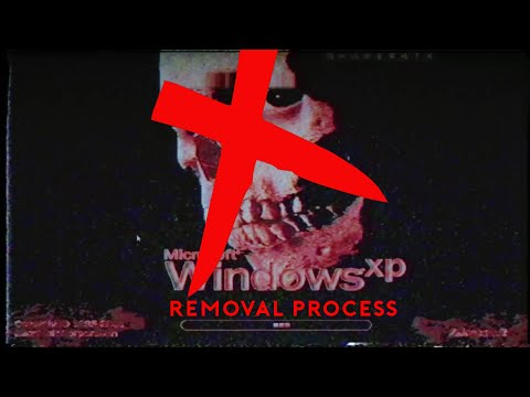 Removing Horror Windows XP (WinXP.Horror.Destructive.exe Removal)
