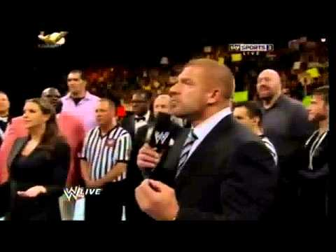 WWE Universe chanting Daniel Bryan and Yes Raw 9 12 13