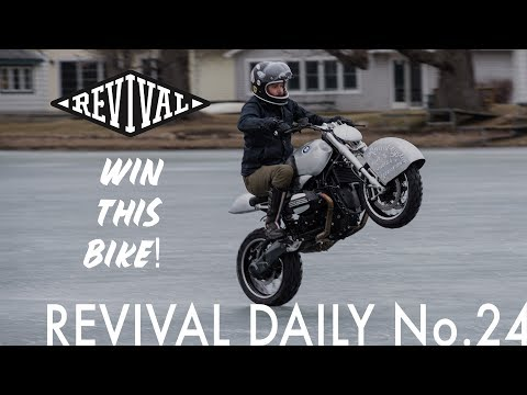 We are giving away our BMW R nine T!!! // Revival Daily No. 24