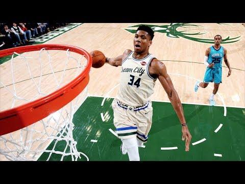 Bucks Dominate Hornets 11 Game Win Streak! 2019-20 NBA Season