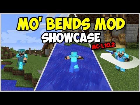 Mo'bends Mod Spotlight Indonesia (Minecraft 1.10.2 Mod)