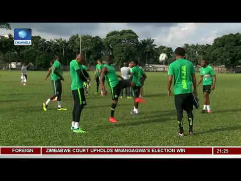 Rohr Unveils Nigeria's Squad For AFCON Qualifier | Sports Tonight |