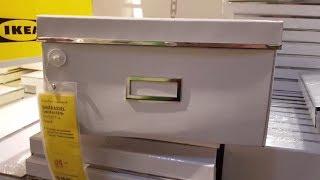 Шопинг в ИКЕА. Обзор полок в отделе для организации хранения и мои покупки в ИКЕА в январе 2018