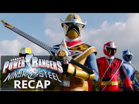 Power Rangers | Ninja Steel Recap Part II!