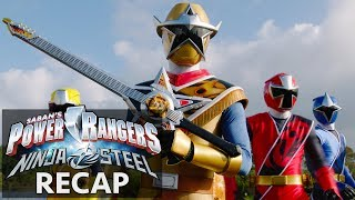 Power Rangers Ninja Steel Recap Part II