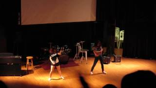 2014 Talent Show- Nadya & Sally dancing