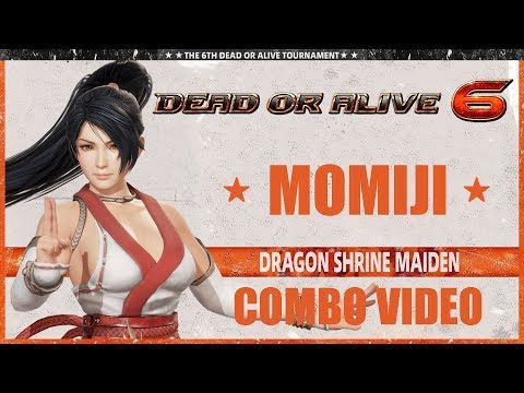 DEAD OR ALIVE 6 (Ver. 1.18) MOMIJI - COMBO VIDEO
