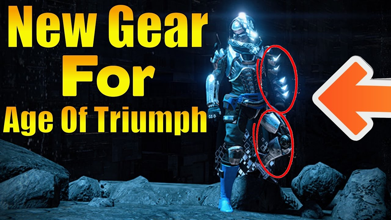 """destiny - new gear coming in the """"age of triumph"""" dlc live event"""