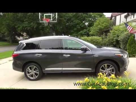 2014-2015 Infiniti QX60 Hybrid Review: Kids, Carseats & Safety Part I